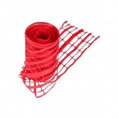 Grillage Avertisseur Rouge bobine de 100ml REF 2251113M