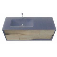 Table vasque LIBERTY en verre Sanijura