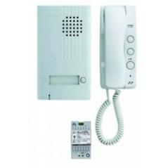 Kit Portier Audio 2 Fils 1 Combine REF 110357 AIPHONE