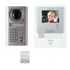 Kit vidéo couleur mains libres standard platine saillie REF 130107 AIPHONE