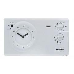 Thermostat d'ambiance à horloge analogique 24h/7j REF RAM782R THEBEN