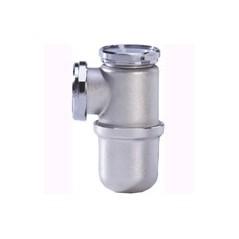 Siphon de bidet/lavabo chrome mat REF 501012 NICOLL