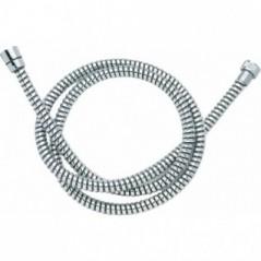 Flexible de douche 1,50ml metallo plastique chrome REF 307006 NICOLL