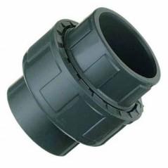 Union 3 pieces a coller d32 pvc pression