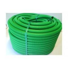 Gaine ICTA electrique avec tire fil D25 Verte 100ml
