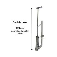 AGRAFEUSE DALLE PLANCHER REF A520020 ING FIXATION
