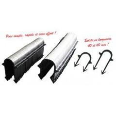 Agrafes plancher chauffant L60mm boite 300pcs