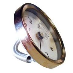 """Thermometre applique bracelet 0/120 pour tube 1""""1/2 REF TB"""