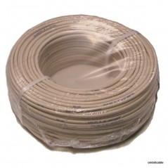 Cable PTT 298 4 paires 0,5 mm IVOIRE 100ml
