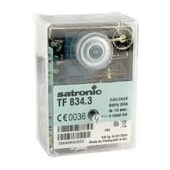 Relais Boite de controle fioul satronic serie TF REF TF834.3 SATRONIC