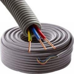 Cable Prefile 3x2,5 Noir Bleu Vert/Jaune D20 100ml