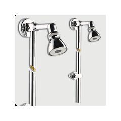 Bras de douche applique avec rotule REF 29205 PRESTO