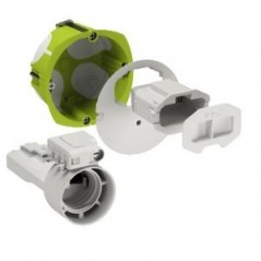 Boite d'applique multifix air etanche a l'air D67 Prof.40mm REF IMT35027 SCHNEIDER