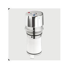 Tete interchangeable lavabo pour Mitigeur Serie 4000S Bouton chromé REF 01024 PRESTO