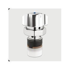 Tete interchangeable lavabo pour Mitigeur Serie 3500S Bouton 10 a 20 secondes chromé REF 01019 PRESTO