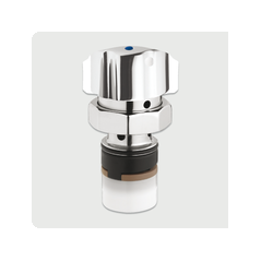 Tete interchangeable lavabo pour Mitigeur Serie 3500S Bouton 20 a 35 secondes chromé REF 01017 PRESTO