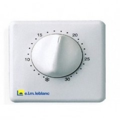 Thermostat d ambiance sans programation TRL22 ELM LEBLANC