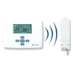 Thermostat d ambiance a programation hebdomadaire avec radio sans fil TRL726RF ELM LEBLANC