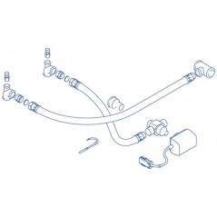 Kit de raccordement hydraulique RAC100 pour ballon BIL REF 7716834800 ELM LEBLANC