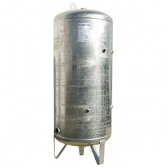 Reservoir Adduction d'Eau 1000 litres vertical 8 bars galvanise REF RG8.1000 CALPEDA