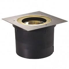 ADJUST QRB111 encastré de sol, carré, inox 304, max. 50W, IP67 REF 227092 SLV BY DECLIC