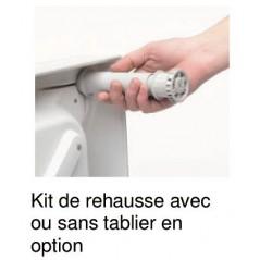 Kit de réhausse N 5 pour Receveur Flight Antibacterien Acrylique Blanc REF E62472-00 JACOB DELAFON