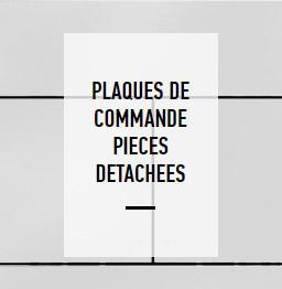 Plaques de commandes bati-support liste des pièces détachées