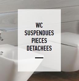 Wc suspendue liste des pièces détachées